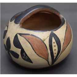 SANTO DOMINGO POTTERY BASKET