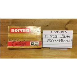 AMMO, .308 NORMA MAGNUM