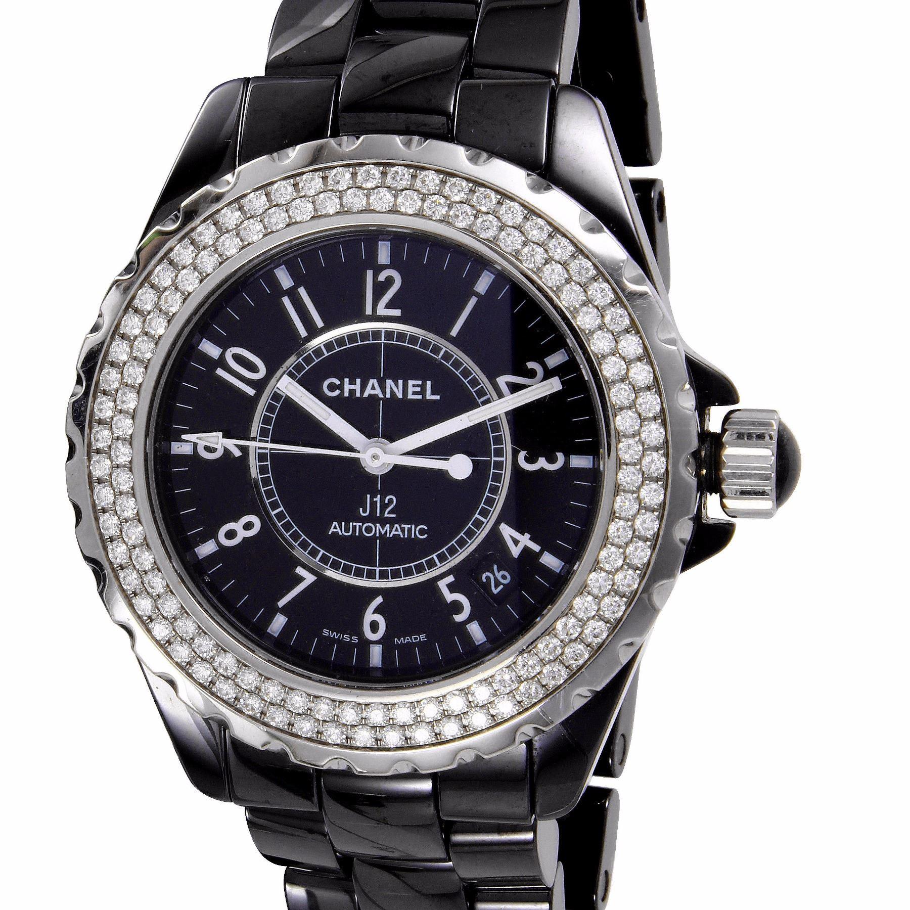 Chanel J12 Automatic Ceramic Diamond Watch 951