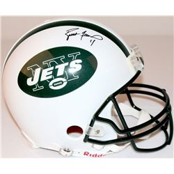 Brett Favre Signed Jets Full-Size Authentic Proline Helmet (Favre COA)