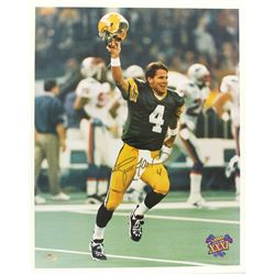 Brett Favre Signed Packers 16x20 Photo (Radtke Hologram)