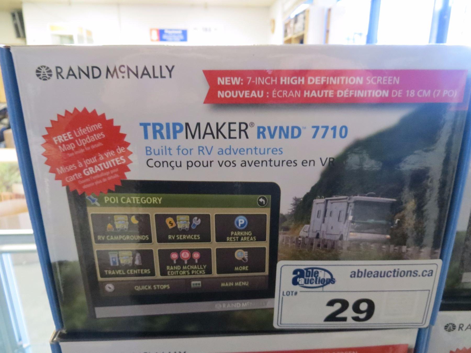Rand Mcnally RVND 7 GPS RVND 7 GPS
