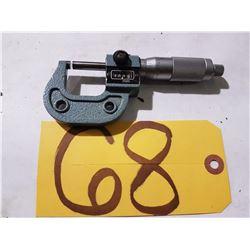 Mitutoyo Dial Micrometer 0-1'' at 0.0001