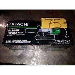 Hitachi 4''1/2 Grinder