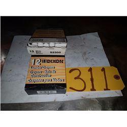 Box of White Lumber Crayons