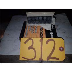 Box of Black Lumber Crayons