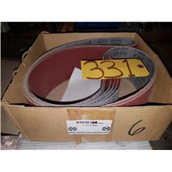 Box of Abrasives Belt 4'' x 64'' Gr240