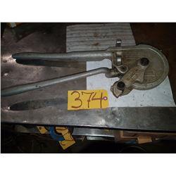Ridgid 3'' radius tube bender