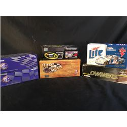COLLECTION OF 6 SCALE MODEL REPLICA CARS, IN ORIGINAL PACKAGING, INC. CARS BY ACTION, AND TEAM