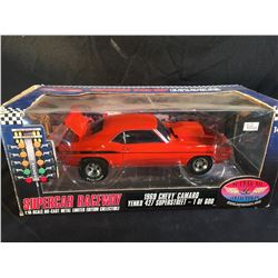 1969 CHEVY CAMARO YENKO 427 SUPER STREET 1:18 SCALE DIE CAST METAL LIMITED EDITION COLLECTIBLE, 1 OF