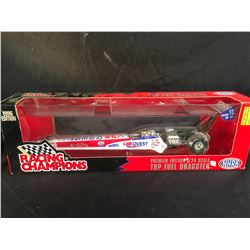 PREMIER EDITION 1/24 SCALE TOP FUEL DRAGSTER COLLECTABLE CAR, IN ORIGINAL PACKAGING