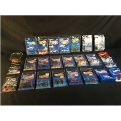 COLLECTION OF 24 ASSORTED HOT WHEELS CARS, IN ORIGINAL PACKAGING
