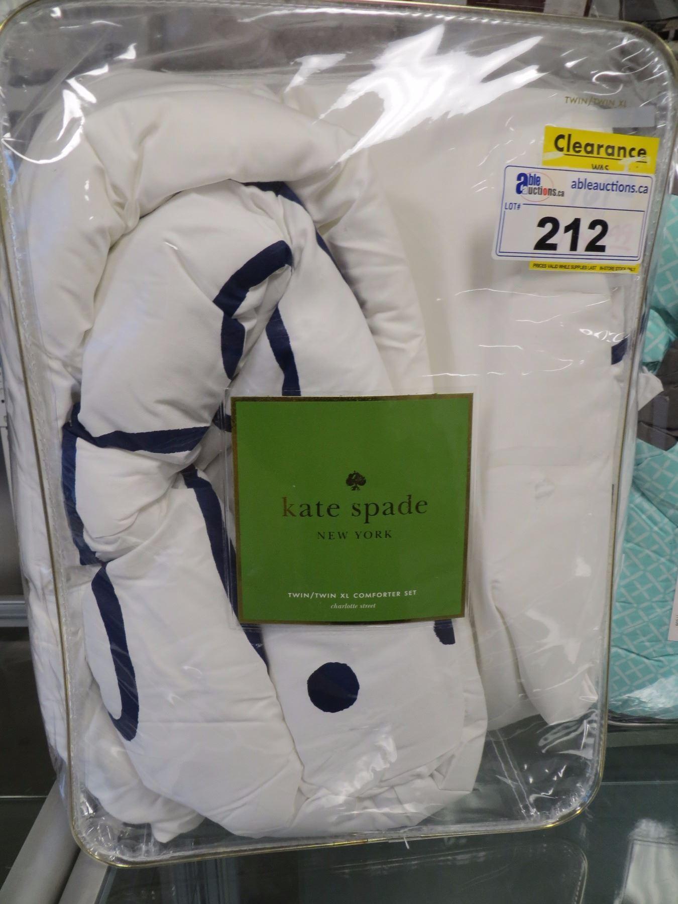 Kate Spade Twin Twin Xl Comforter Set In Bag