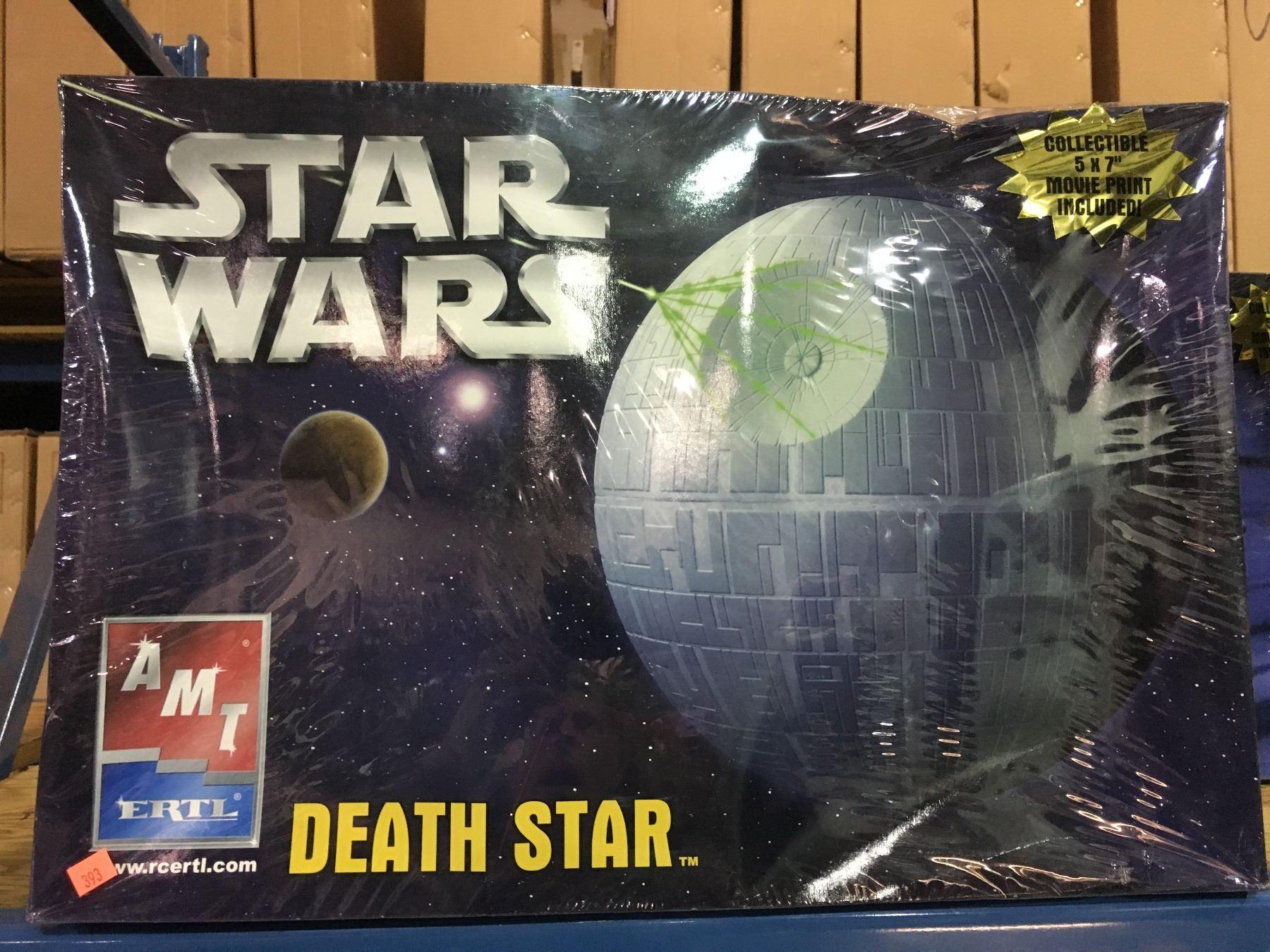 AMT STAR WARS DEATH STAR MODEL KIT