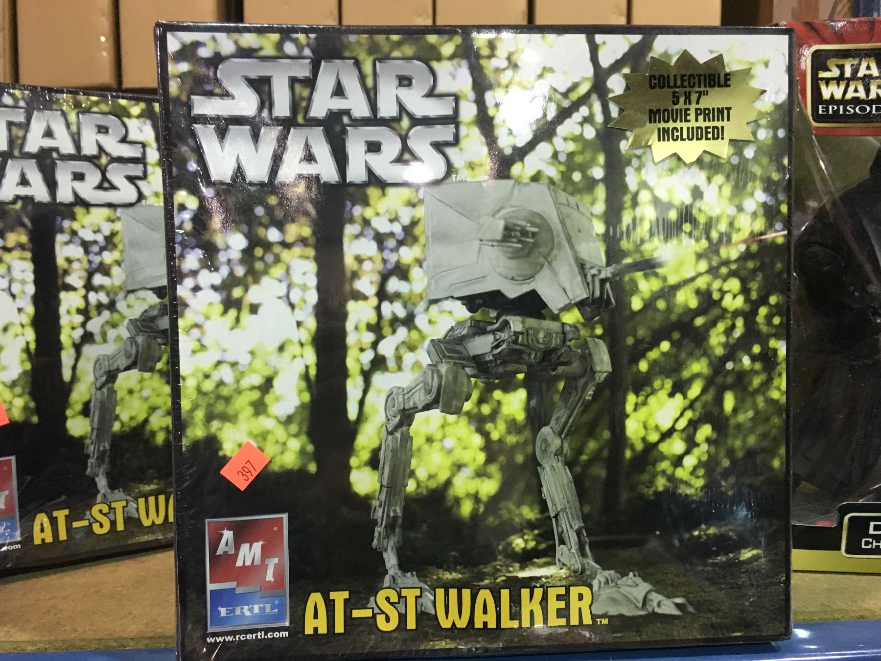 AMT STAR WARS AT-ST WALKER MODEL KIT