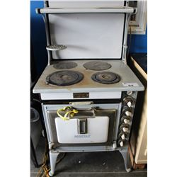 MOFFAT ANTIQUE ELECTRIC STOVE