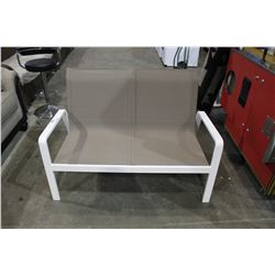 PATIO LOVE SEAT WITH ARMS