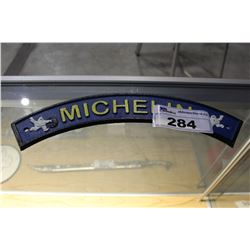 MICHELIN CAST IRON SIGN