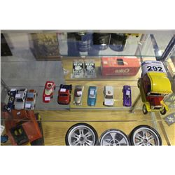 LOT OF TEN VINTAGE TOY CARS