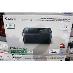 CANON PIXMA MX492 PRINTER