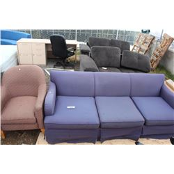 SOFA AND SIDE CHAIR