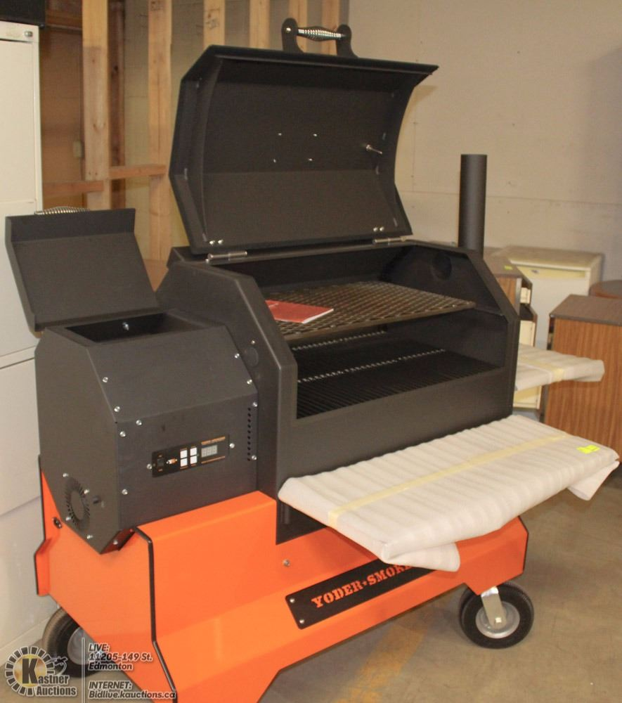 YS 640 COMPETITION YODER PELLET SMOKER