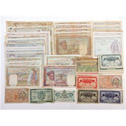 Banque De L'Algeria Banknote Assortment.