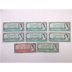 Bank of Canada, 1954-1960's Banknote Group.