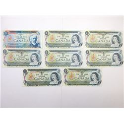 Bank of Canada, 1972-1973 Banknote Group.