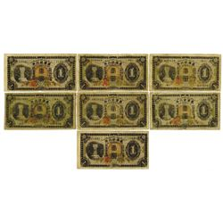 Bank of Taiwan Limited - Taiwan Bank, 1932-37 Banknote Assortment.