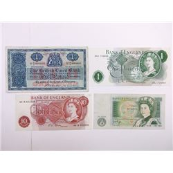 Bank of England Assortment and a few Scotland Friends.