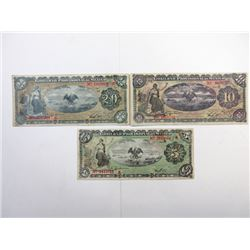 Mexican Revolutionary ca.1914 Banknote Assembly.