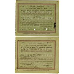 Mexico North Western Railway Co., 1923 Issued Bond