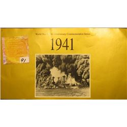 1941 World War II 50th Anniversary Commemorative Series U.S.P.S. commemorative Sheet of .29c Stamps