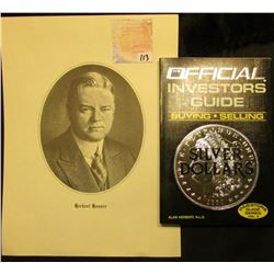 First Edition The Official Investors Guide Buying Selling Silver Dollars, by Alan Herbert, N.L.G. Mi