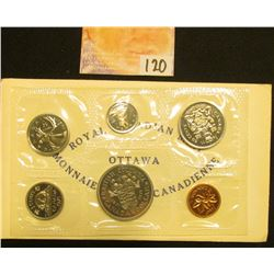1871-1971 Commemorative Royal Canadian Mint Set in original cellophane and envelope.