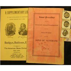 """Proceedings of Sixteenth Annual Encampment Iowa Division Sons of Veterans U.S.A. Held at Waterloo,"