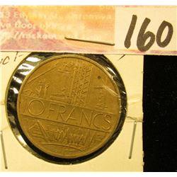 1970 France 10 Francs.