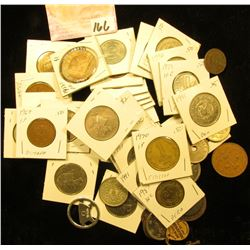 (54) Miscellaneous World Coins, Tokens, & medals.