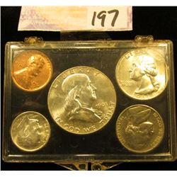 1961 D U.S.Year Set in a Snap tight holder. Brilliant Uncirculated.
