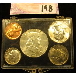 1962 P U.S.Year Set in a Snap tight holder. Brilliant Uncirculated.