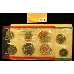 1972 U.S. Mint Set, P & D, original as issued.