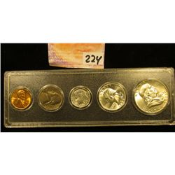 1959 P U.S.Year Set in a Snap tight holder. Brilliant Uncirculated.