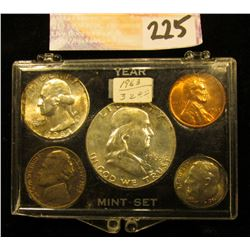1963 P U.S.Year Set in a Snap tight holder. Brilliant Uncirculated.