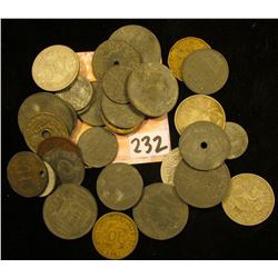 Nice selection of Foreign Coins brought back to the U.S.A. by a World War II soldier returning from