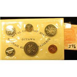 1871-1971 British Columbia, Canada six-piece Mint Set with Commemorative Dollar in original envelope