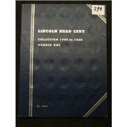 1919-40 Partial Set of Lincoln Cents in a Whitman folder. Includes 1919 P, D, S, 20 P,D, S, 32D, 33D