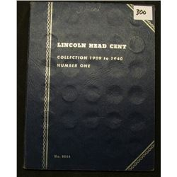 1909 VDB-40 Partial Set of Lincoln Cents in a Whitman folder. Includes 1931P, D, 32P, D, 33D & etc.