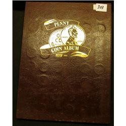 1910-79 Partial Set of Lincoln Cents in a brown Dansco folder. Nice group of Lincolns.