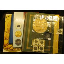 United States Mint 2000 Native American Dollar Program Advertising; 2003 Roster American Political I